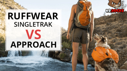 Ruffwear Singletrak vs Approach