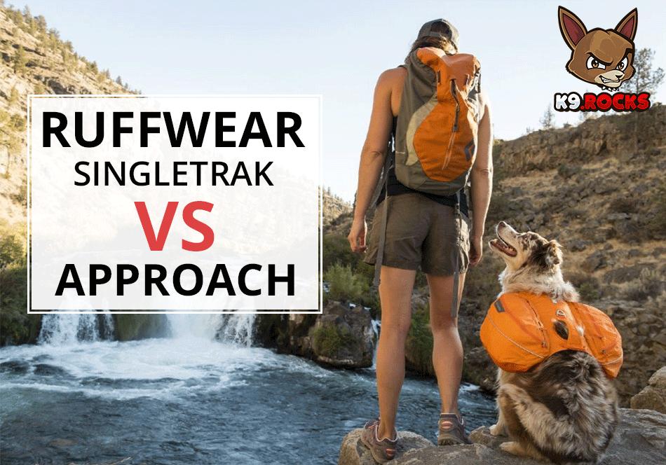 Ruffwear Singletrak vs Approach