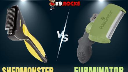 Shedmonster vs Furminator: Best De-shedding Brush