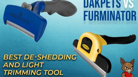 Dakpets vs Furminator: Best De-shedding and Light Trimming Tool